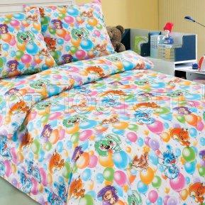 «Праздник» 1,5 - спальное постельное белье, ПОПЛИН, Арт Дизайн