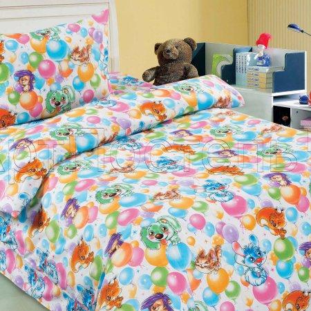 «Праздник» дет. кроватка постельное белье, Поплин, Арт Дизайн