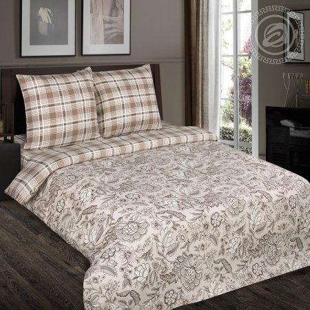 Постельное белье «Ода» 1,5 - спальное (на резинке), Поплин, Арт Дизайн