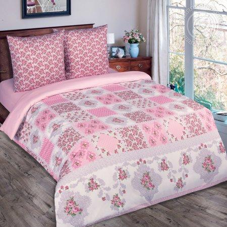 Постельное белье «Парижанка» 1,5 - спальное (на резинке), Поплин, Арт Дизайн