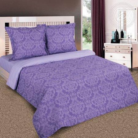 Постельное белье «Византия (фиолет)» семейное, Поплин, Арт Дизайн