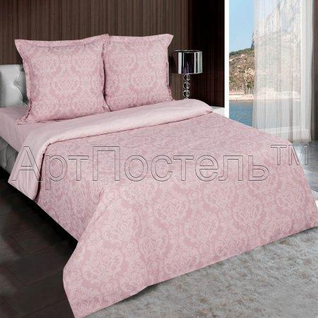 Постельное белье «Византия (розовый)» 1,5 - спальное, Поплин, Арт Дизайн