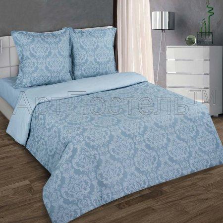 Постельное белье «Византия (серый)» семейное, Поплин, Арт Дизайн