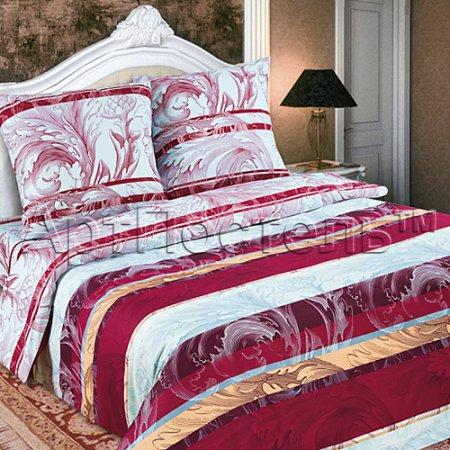 Постельное белье «Рузанна» двуспальное с европростыней, Поплин, Арт Дизайн