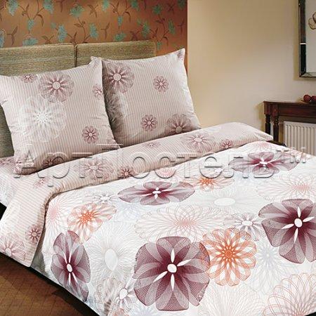 «Сфера» двуспальное с европростыней постельное белье, Поплин, Арт Дизайн
