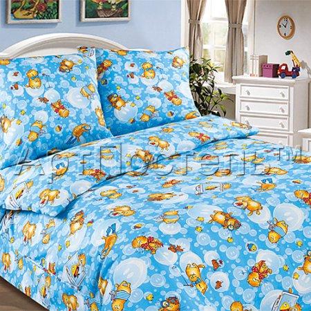 «Васики» 1,5 - спальное постельное белье, Поплин, Арт Дизайн