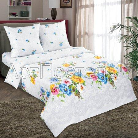 Постельное белье «Аннушка» 1,5 - спальное, Поплин, Арт Дизайн