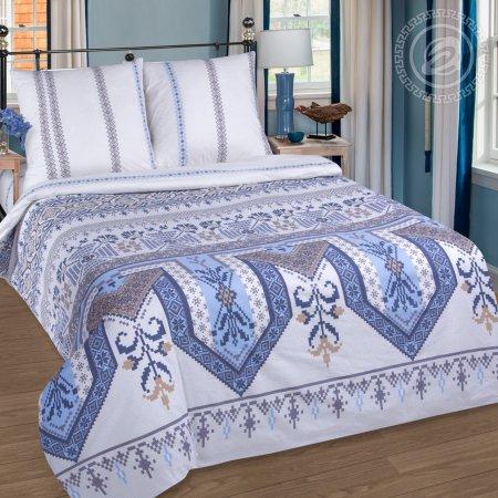 Постельное белье «Фольклор» 1,5 - спальное, Поплин, Арт Дизайн