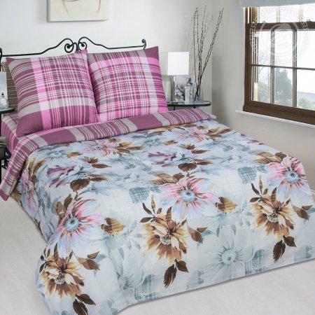 Постельное белье «Воздушная акварель» 1,5 - спальное, Поплин, Арт Дизайн