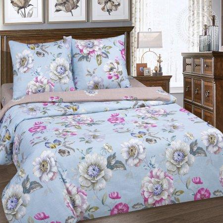 Постельное белье «Ева» 1,5 - спальное, Поплин, Арт Дизайн