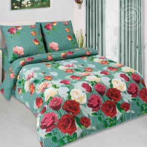 «Мадонна» двуспальное с европростыней постельное белье, Поплин, Арт Дизайн