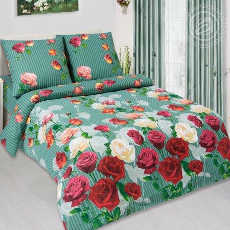 Постельное белье «Мадонна» двуспальное с европростыней, Поплин, Арт Дизайн