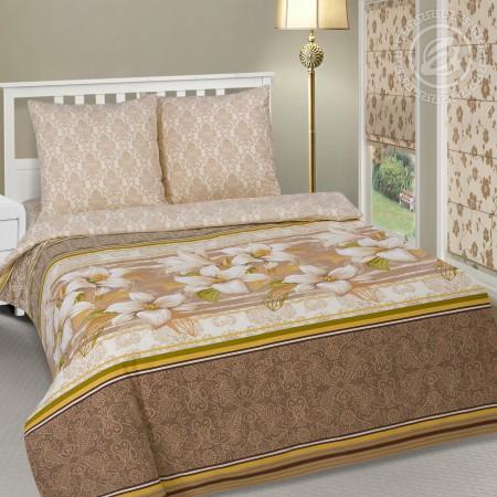 Постельное белье «Либерика» 1,5 - спальное, Поплин, Арт Дизайн