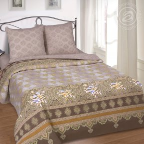 «Мадина» 1,5 - спальное постельное белье, Поплин, Арт Дизайн