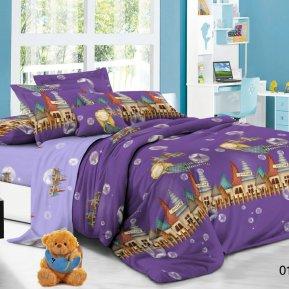 «53/016-PD» 1,5 - спальное постельное белье, Поплин, Cleo