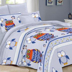 «53/026-PD» 1,5 - спальное постельное белье, Поплин, Cleo