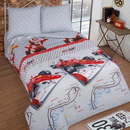 «Экстрим» 1,5 - спальное постельное белье, Поплин, Арт Дизайн