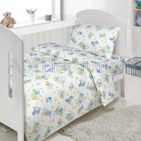 «Кроха» дет. кроватка постельное белье, ПОПЛИН, Арт Дизайн