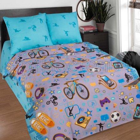 «Тинейджер» 1,5 - спальное постельное белье, Поплин, Арт Дизайн
