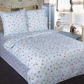 «Юнга» 1,5 - спальное постельное белье, ПОПЛИН, Арт Дизайн