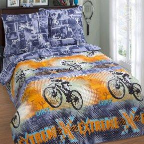 «Рекорд» 1,5 - спальное постельное белье, Поплин, Арт Дизайн
