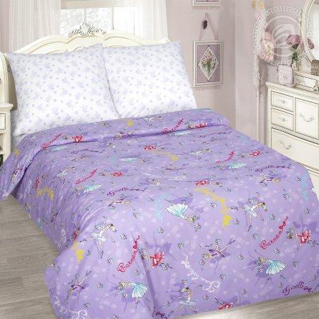 «Балерина» 1,5 - спальное постельное белье, Поплин, Арт Дизайн