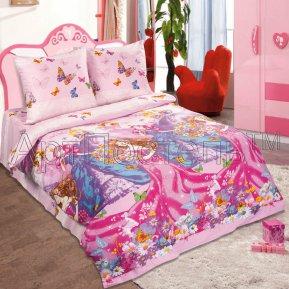 «Мечта красавицы» 1,5 - спальное постельное белье, ПОПЛИН, Арт Дизайн