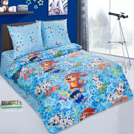 «Скейтборд» 1,5 - спальное постельное белье, Поплин, Арт Дизайн
