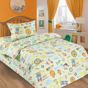 «Улыбка» дет. кроватка постельное белье, ПОПЛИН, Арт Дизайн