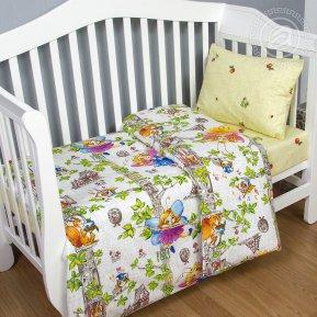 «Лесные феи» дет. кроватка постельное белье, Поплин, Арт Дизайн