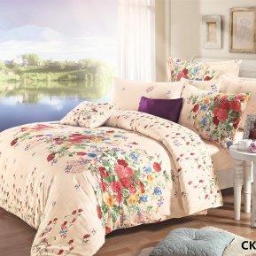 «CKA-1-018» 1,5 - спальное постельное белье, Сатин, АльВиТек