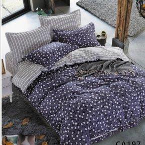 «CA-4-197» двуспальное постельное белье, Сатин, АльВиТек