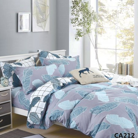 Постельное белье «CA-1-212» 1,5 - спальное, Сатин, АльВиТек