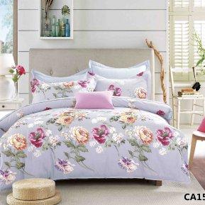 «CA-1-154» 1,5 - спальное постельное белье, Сатин, АльВиТек