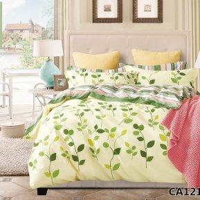 «CA-4-121» двуспальное постельное белье, Сатин, АльВиТек