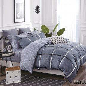 «CA-7-118» семейное постельное белье, Сатин, АльВиТек