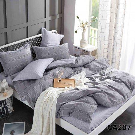 Постельное белье «CA-1-207» 1,5 - спальное, Сатин, АльВиТек