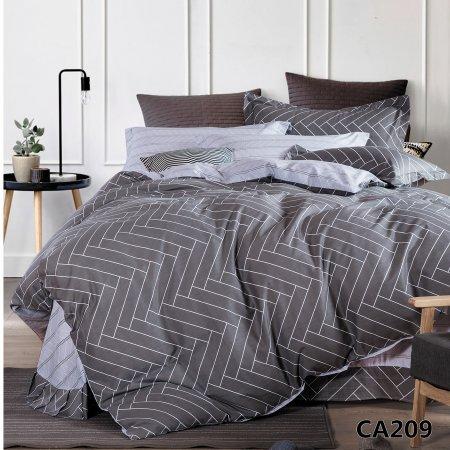 Постельное белье «CA-1-209» 1,5 - спальное, Сатин, АльВиТек
