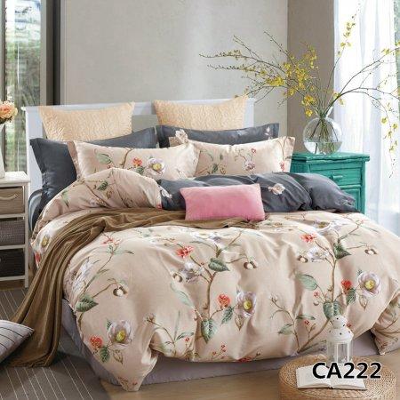 Постельное белье «CA-1-222» 1,5 - спальное, Сатин, АльВиТек