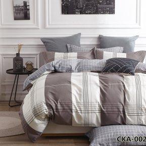 «CKA-4-002» двуспальное с европростыней постельное белье, Сатин, АльВиТек