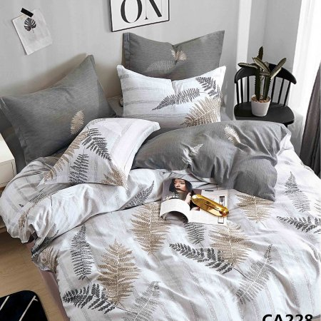 Постельное белье «CA-1-228» 1,5 - спальное, Сатин, АльВиТек