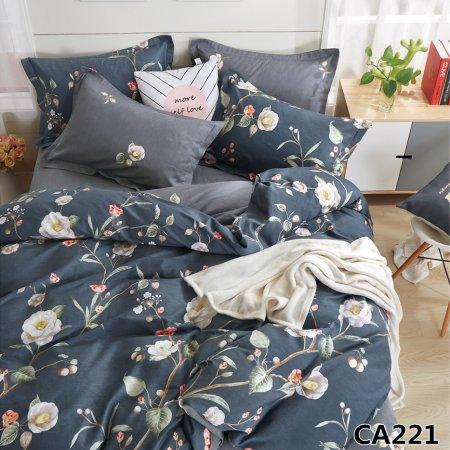 Постельное белье «CA-1-221» 1,5 - спальное, Сатин, АльВиТек