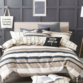 «CA-7-078» семейное постельное белье, Сатин, АльВиТек