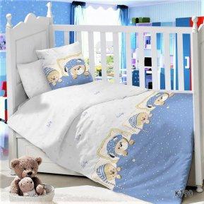 Постельное белье KT-90 Мишутки дет. кроватка