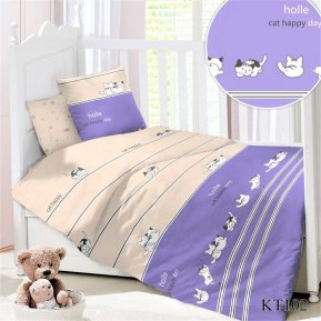 Постельное белье KT-102 Мур-Мур дет. кроватка