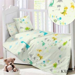 Постельное белье KT-100 Дино дет. кроватка