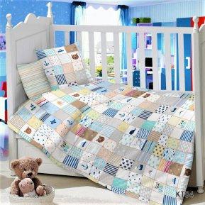 Постельное белье KT-84 Пэчворг дет. кроватка