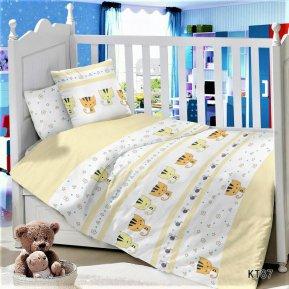 «KT-87 Котята» дет. кроватка постельное белье, Сатин, АльВиТек