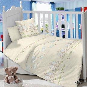 «KT-66 Птенцы» дет. кроватка постельное белье, Сатин, АльВиТек
