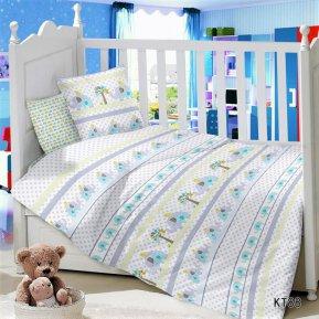 Постельное белье KT-88 Слоники дет. кроватка